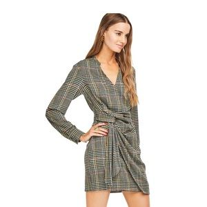 ASTR plaid dress
